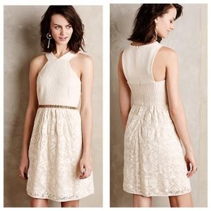 Anthropologie 4 collective Anyer Cream Ivory Dress